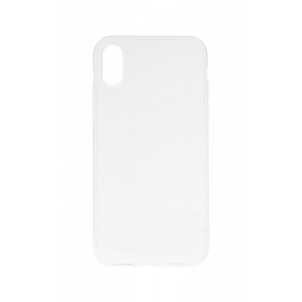 Ultratenký silikónový kryt na iPhone XS 0,5 mm priehľadný