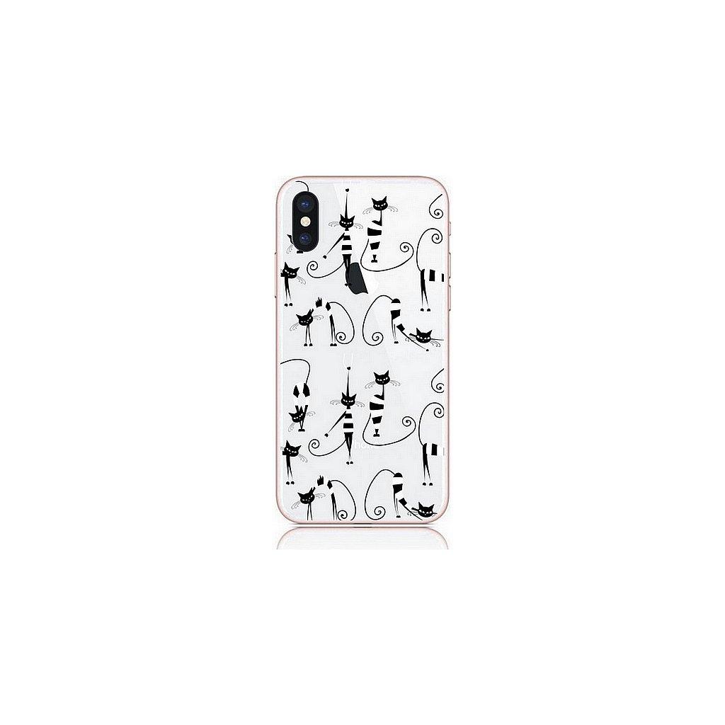 Zadný kryt na iPhone XS Cats 1