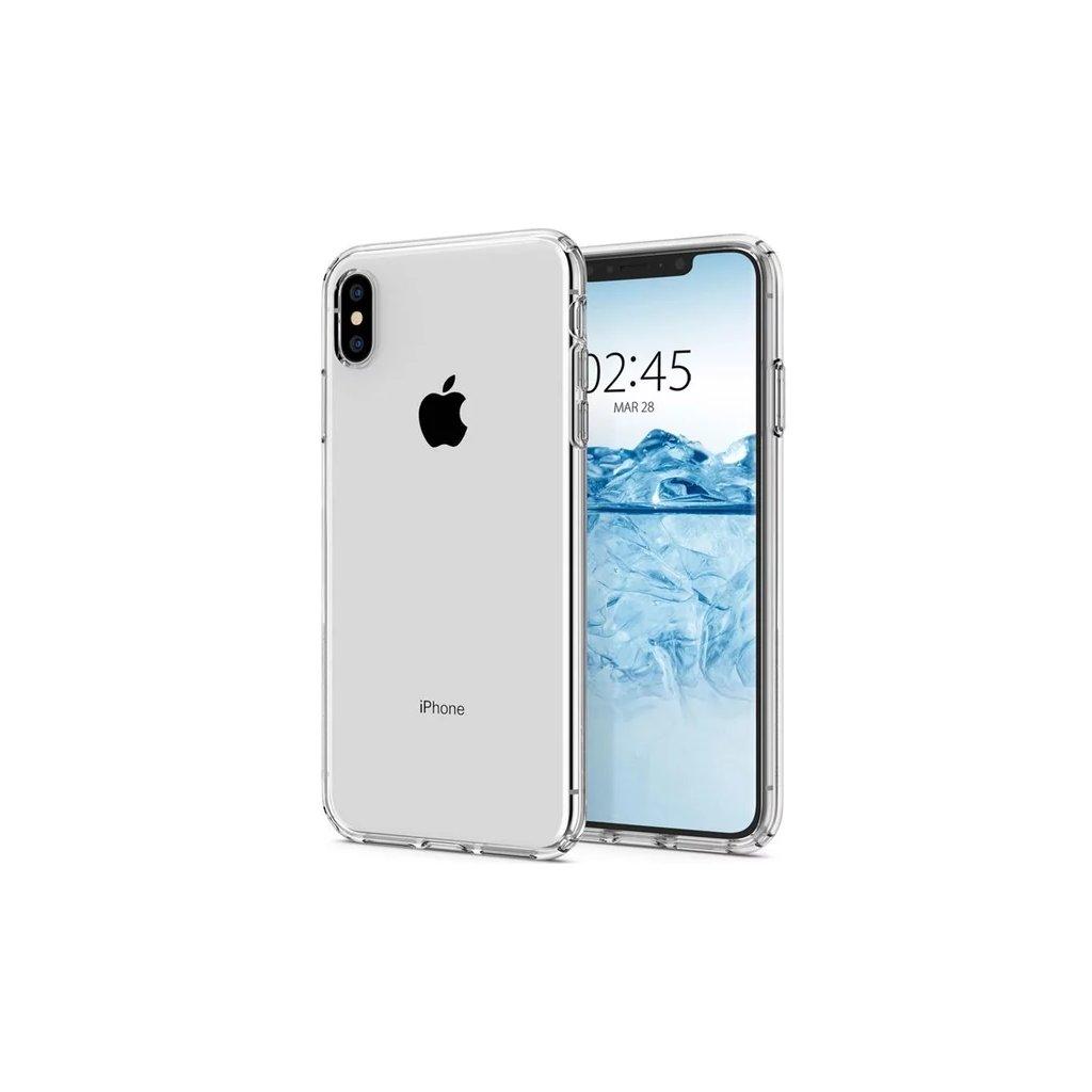 Ultratenký silikónový kryt na iPhone XS Max 0,5 mm priehľadný