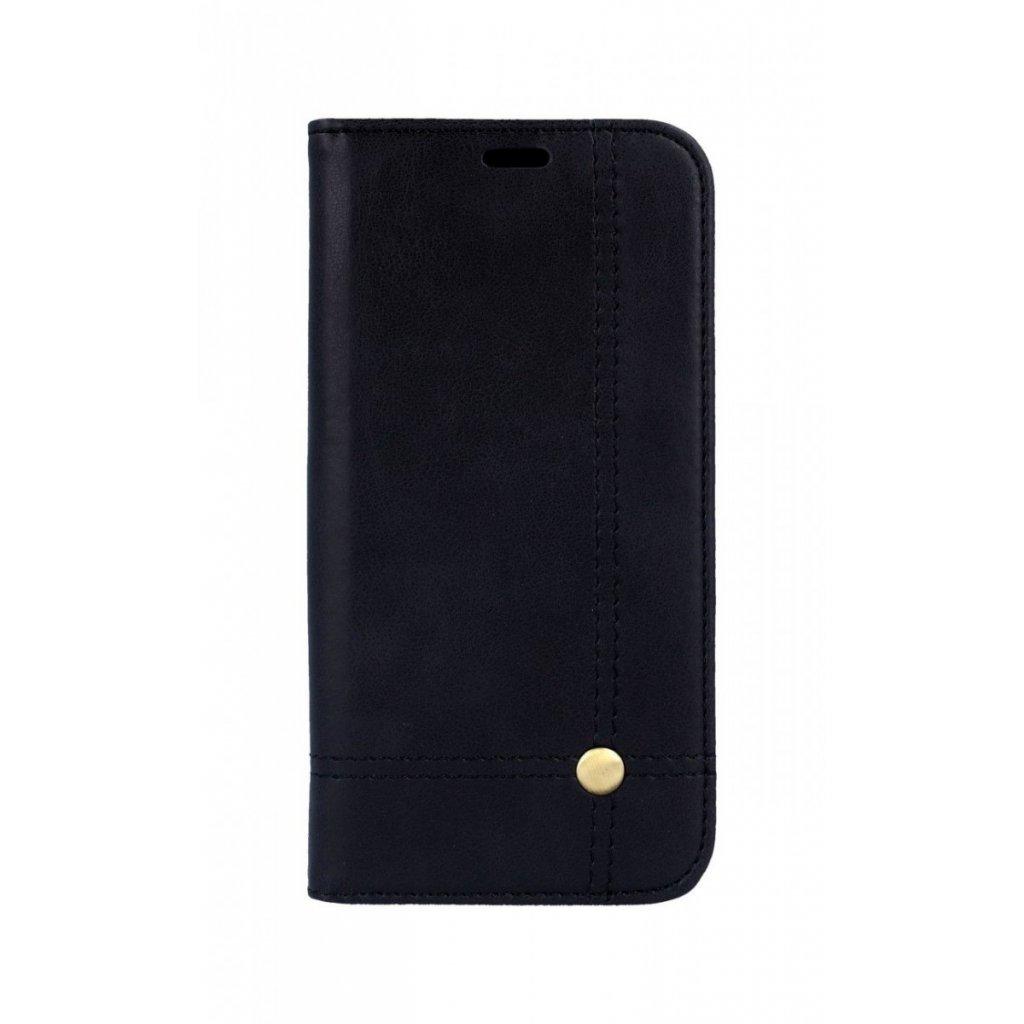 Flipové puzdro Prestige Book na iPhone XS čierne