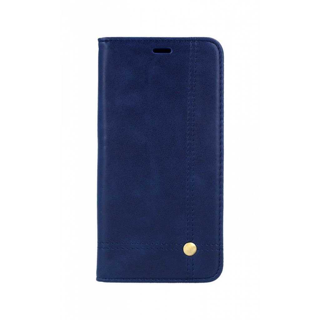Flipové puzdro Prestige Book na iPhone XS Max modré