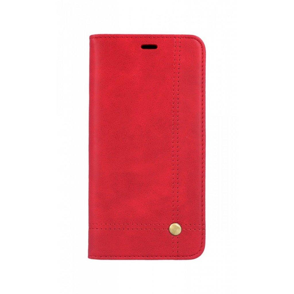 Flipové puzdro Prestige Book na iPhone XS Max červené
