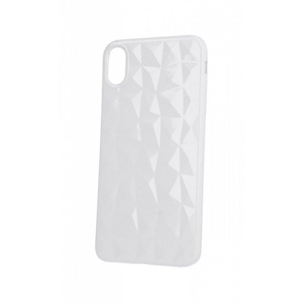 Zadný silikónový kryt Prism Jelly na iPhone XS Max biely