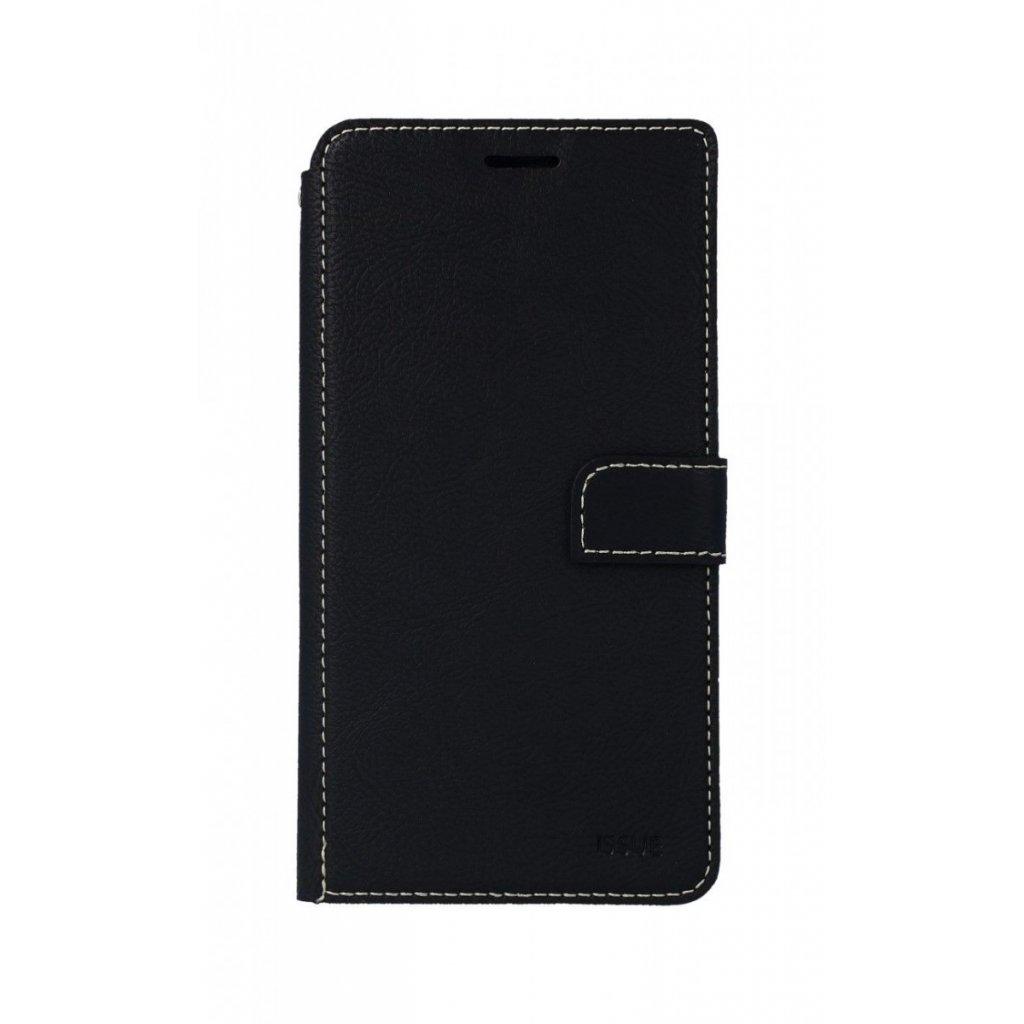 Flipové puzdro Molan Cano Issue Diary na iPhone XS Max čierne
