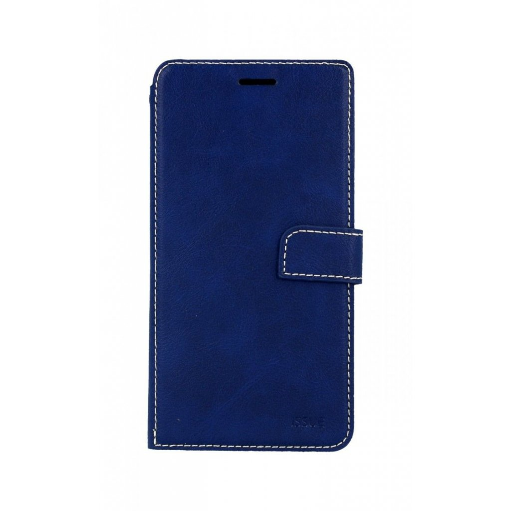 Flipové puzdro Molan Cano Issue Diary na iPhone XS Max modré