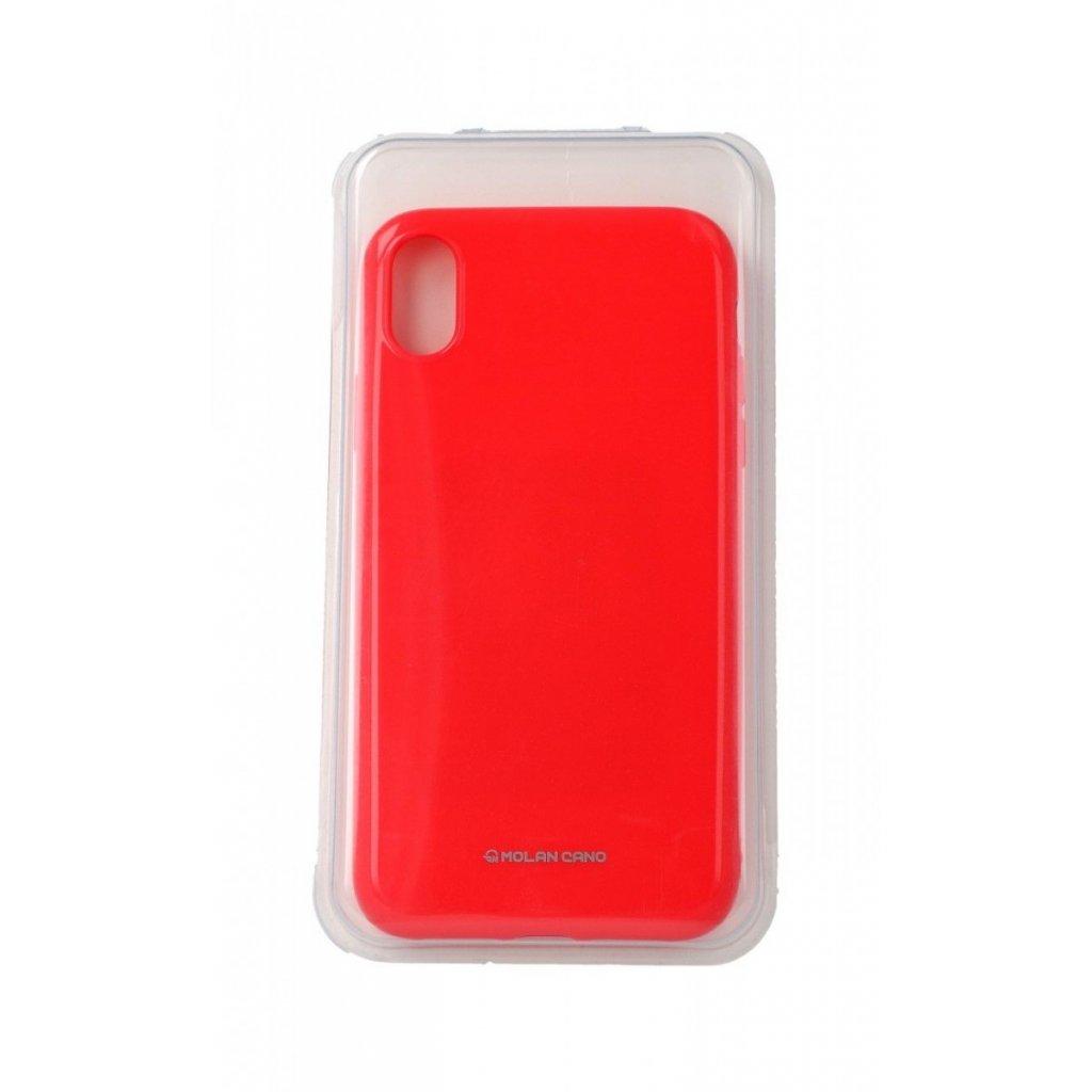 Zadný silikónový kryt Molan Cano Jelly na iPhone XR ružový