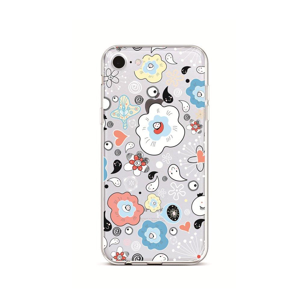 Zadný silikónový kryt na iPhone 7 Drops