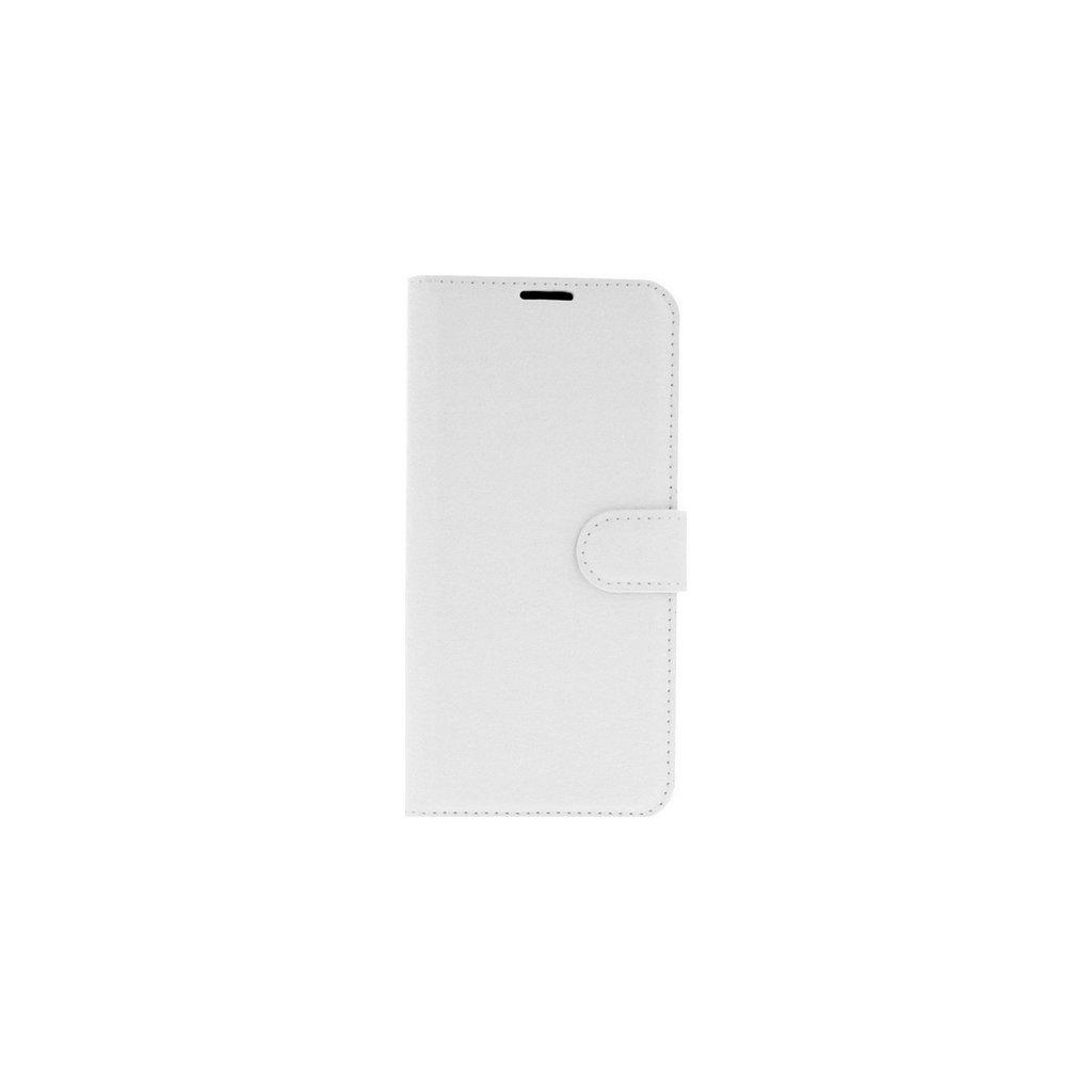 Flipové puzdro na Honor 10 Lite biele s prackou