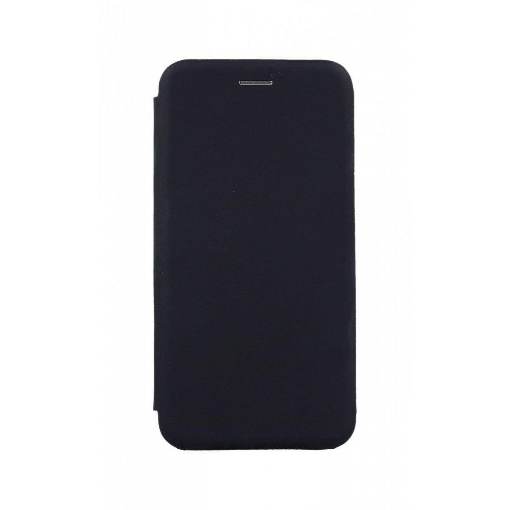 Flipové puzdro Vennus Soft na iPhone XS Max čierne