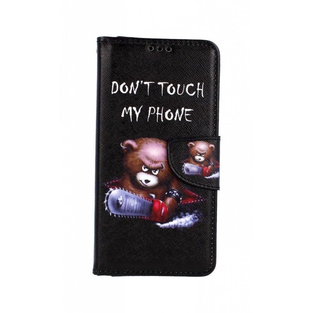 Flipové puzdro na Honor 20 Dont Touch macko