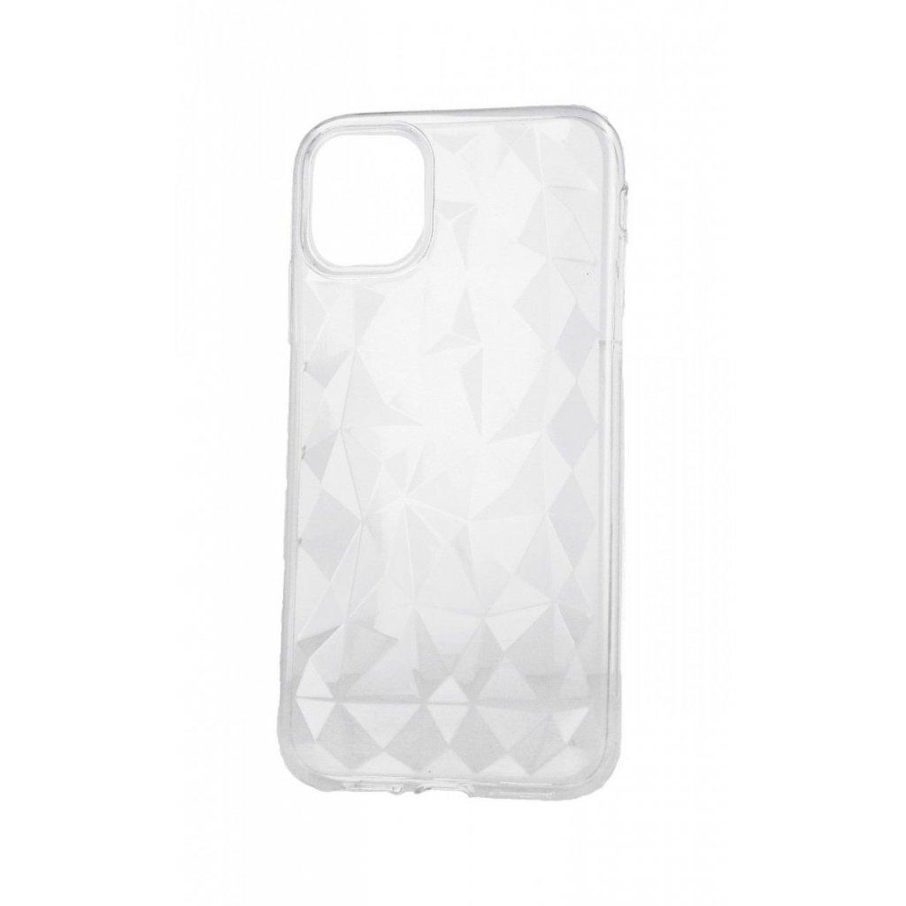 Zadný silikónový kryt Prism Jelly na iPhone 11 Pro priehľadný