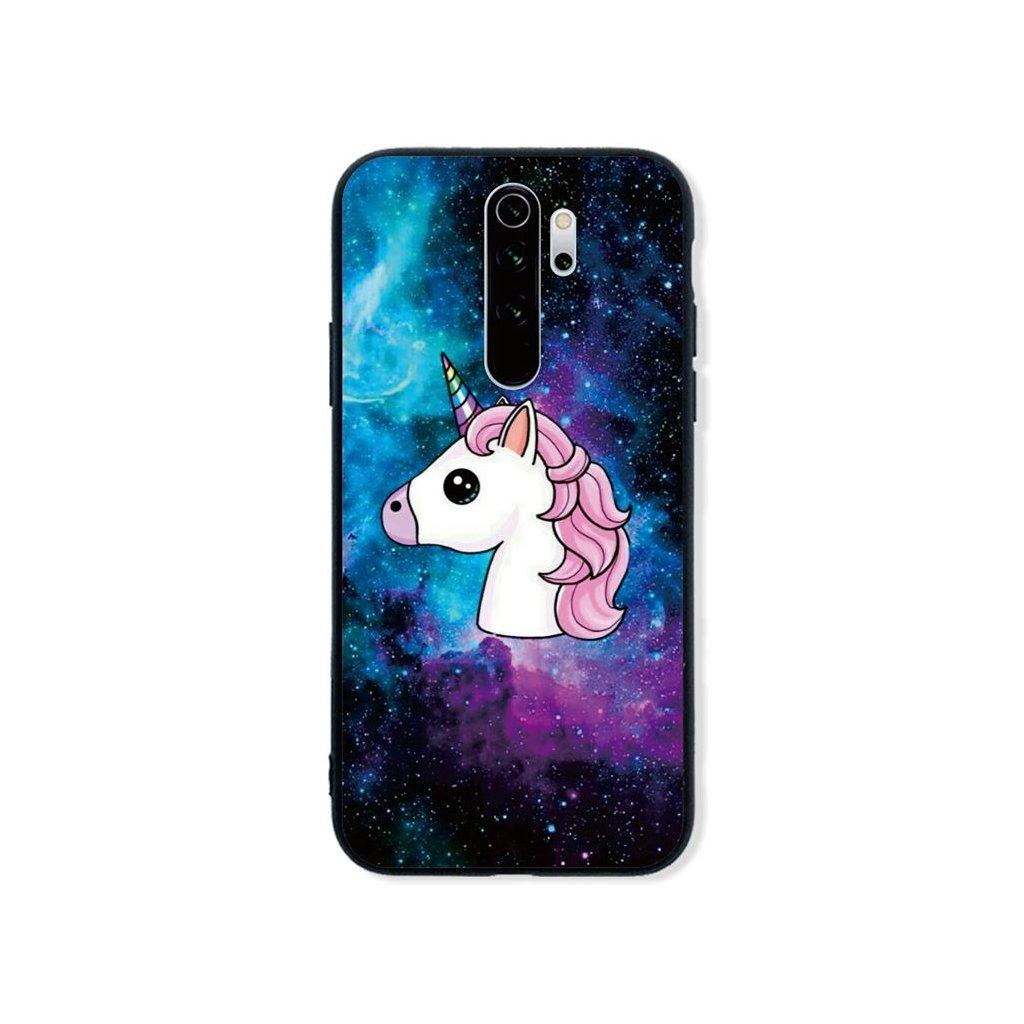 Zadný pevný kryt LUXURY na Xiaomi Redmi Note 8 Pro Space Unicorn