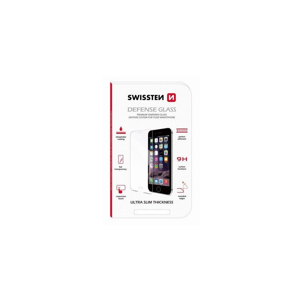 Tvrdené sklo Swissten na iPhone 8 Plus
