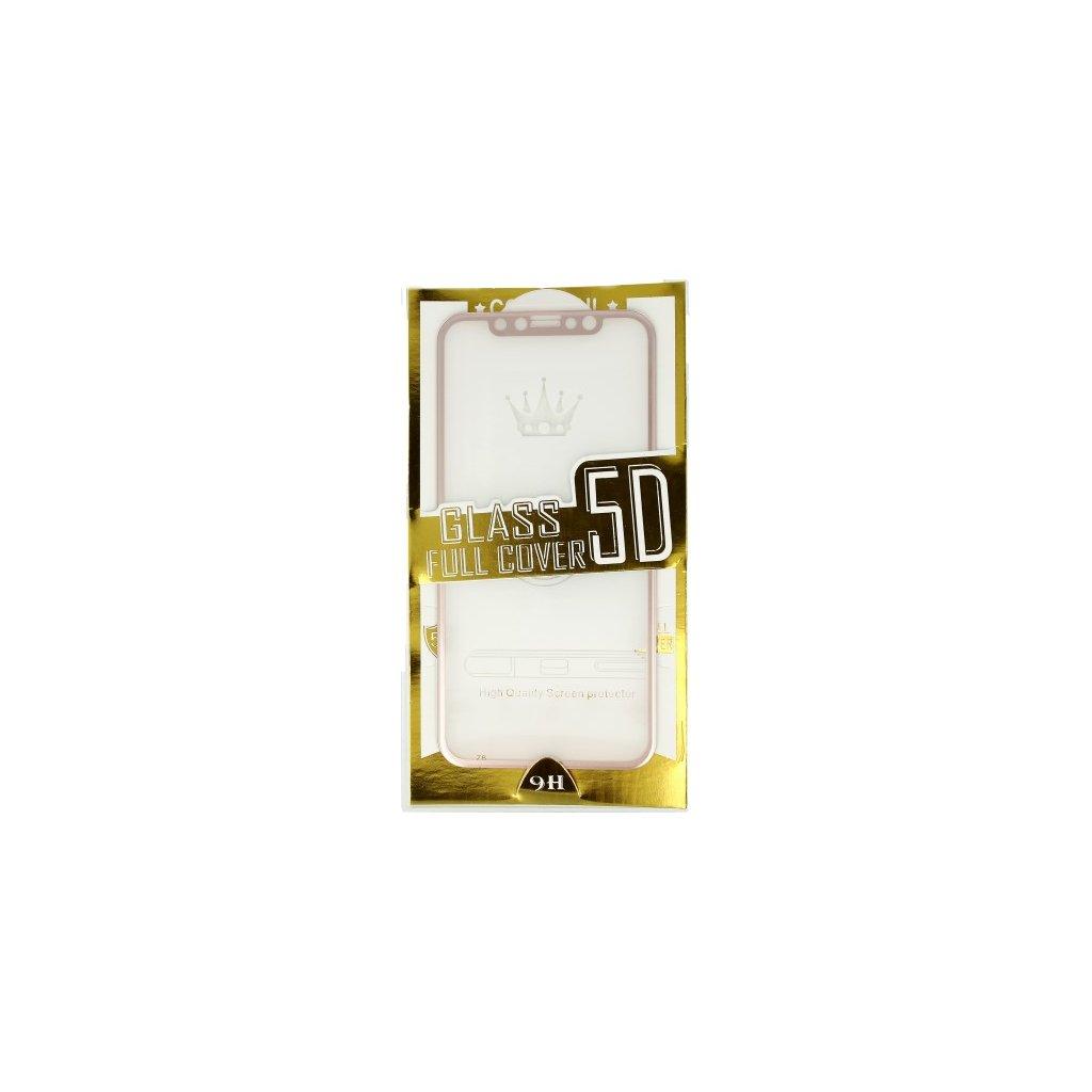 Polykarbonátová ochrana displeja BestGlass na iPhone X 5D ružová