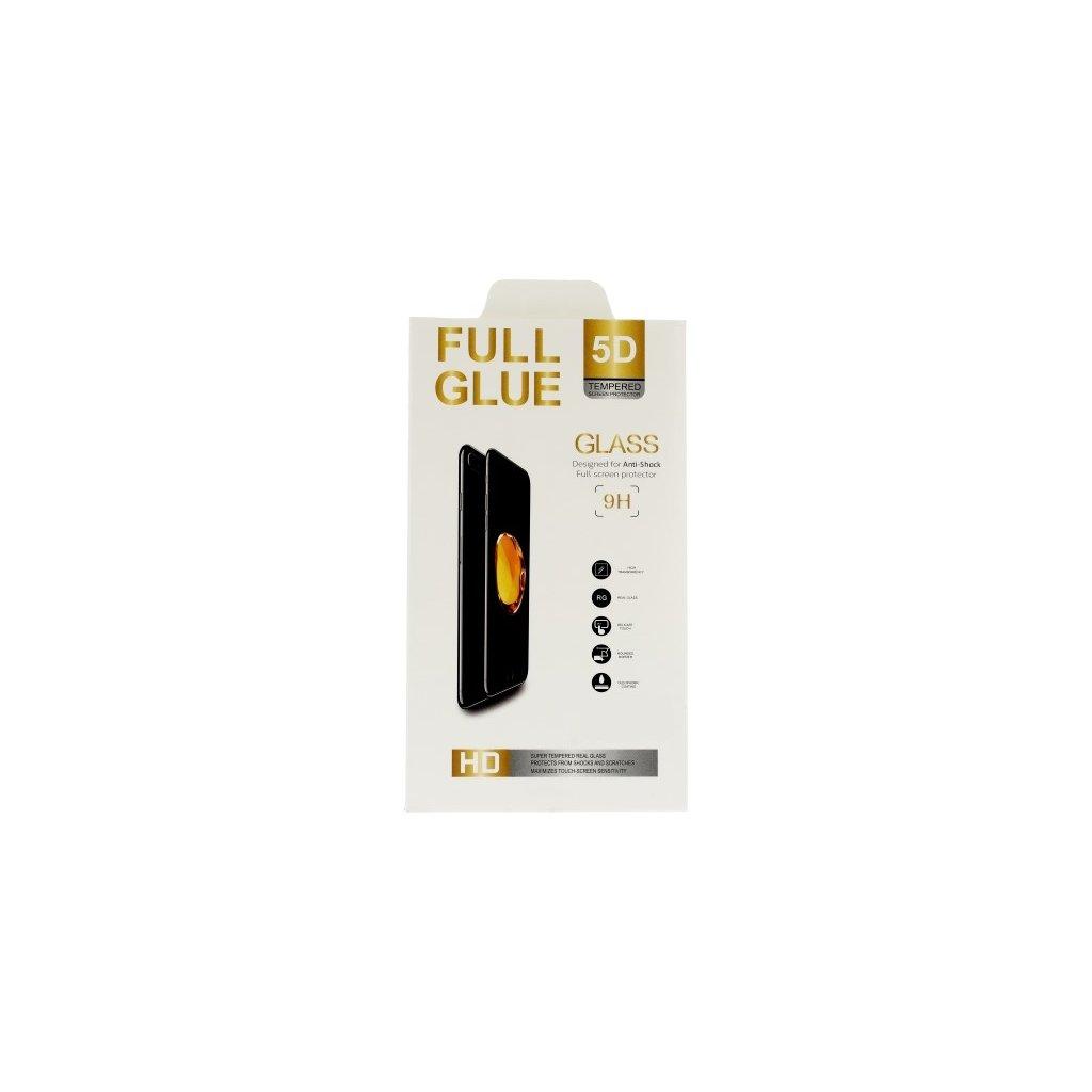 Polykarbonátová ochrana displeja FullGlue na iPhone 7 5D biela