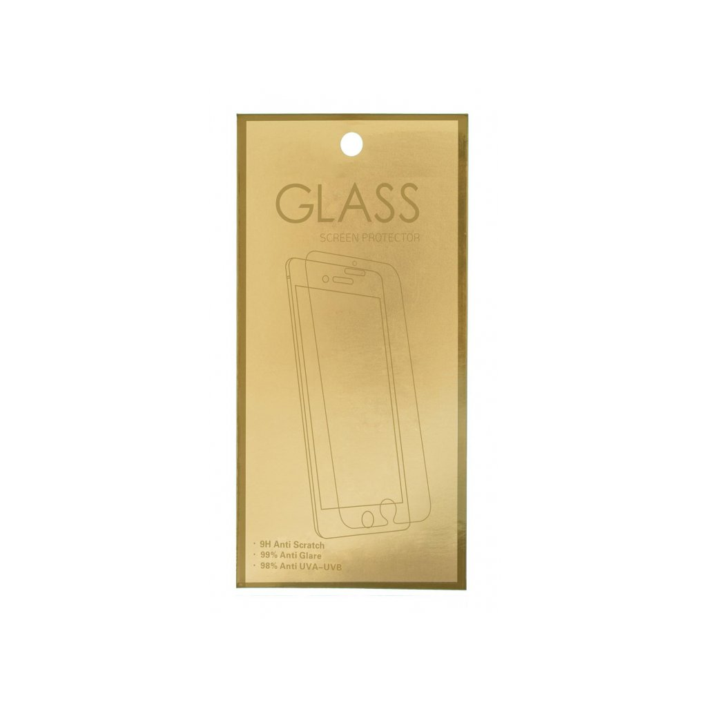 Tvrdené sklo GoldGlass na iPhone XS