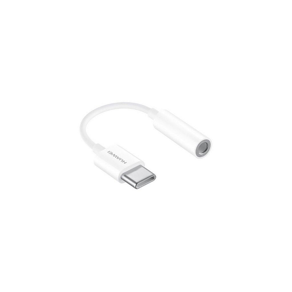 Originálny adaptér Huawei CM20 USB-C (USB Type-C) / 3.5mm konektor biely