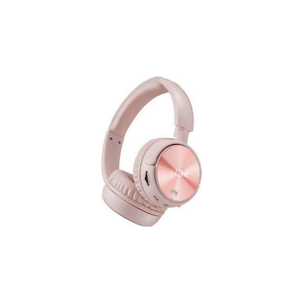 Bezdrôtové slúchadlá Swissten TRIX ružová