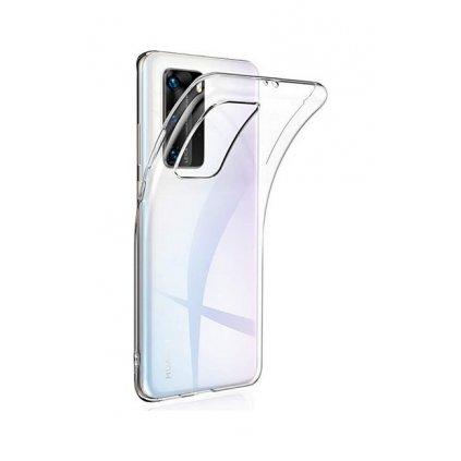 Ultratenký silikónový kryt na Huawei P40 Pro 0,5 mm priehľadný