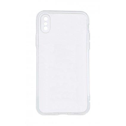 Zadný kryt Swissten Clear Jelly na iPhone XS priehľadný