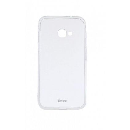 Zadný silikónový kryt Roar na Samsung Xcover 4S priehľadný