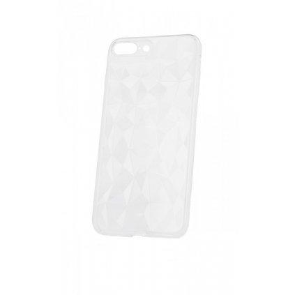 Zadný silikónový kryt Prism Jelly na iPhone 8 Plus priehľadný