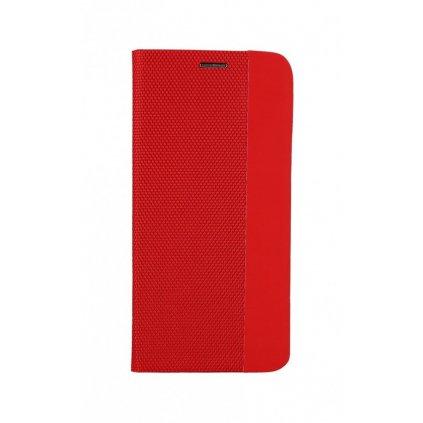 Flipové puzdro Sensitive Book na Samsung A71 červené