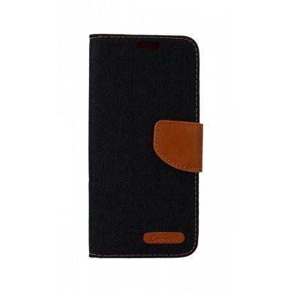 Flipové puzdro Canvas na Samsung S9 čierne