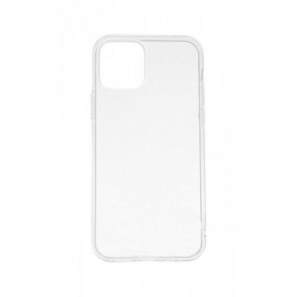 Ultratenký silikónový kryt na iPhone 12 Pro 0,5 mm priehľadný