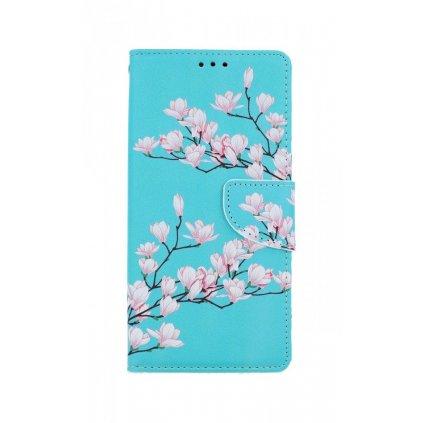 Flipové púzdro na iPhone SE 2020 Magnolie