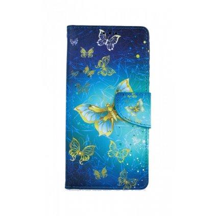 Flipové puzdro na Xiaomi Redmi Note 8 Pro Obloha s motýlikmi