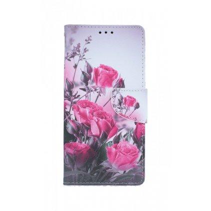 Flipové puzdro na Xiaomi Redmi Note 8 Pro Romantické ruže