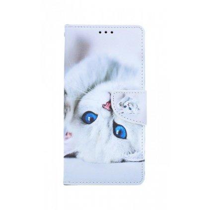 Flipové puzdro na Xiaomi Redmi Note 9 Mačička