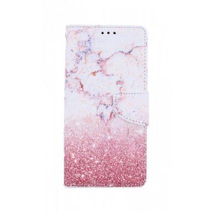 Flipové púzdro na Samsung A41 Ružový mramor