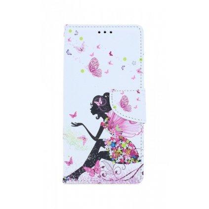 Flipové púzdro na Samsung A41 Zasnená dievča
