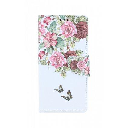 Flipové púzdro na Samsung A51 Nežné kvety
