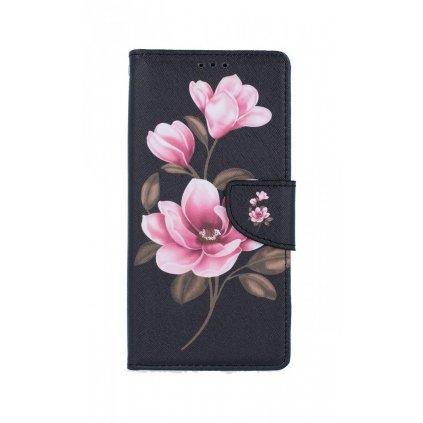 Flipové púzdro na Samsung A21s Tri kvety