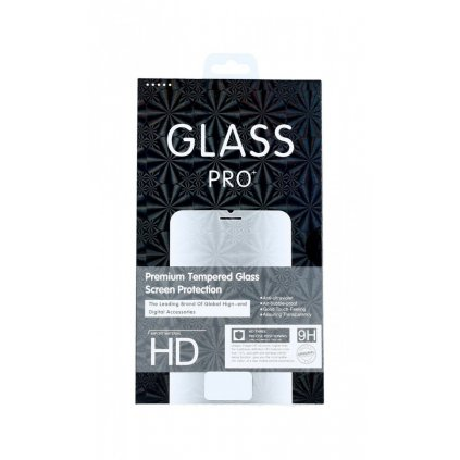 Tvrdené sklo TopGlass na Realme 7 Pro Full Cover čierne