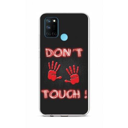 Zadný silikónový kryt na Realme 7i Dont Touch Red