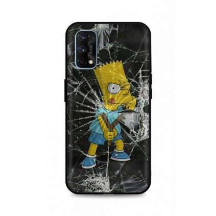 Zadný pevný kryt LUXURY na Realme 7 Pro Bart Simpson