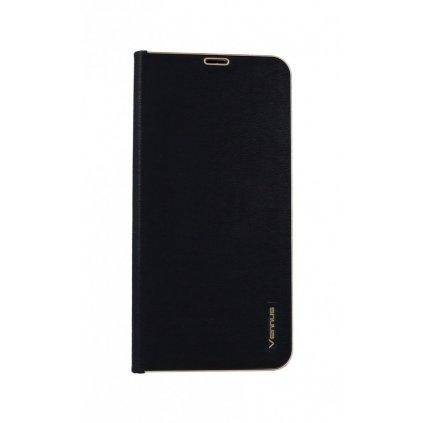 Flipové puzdro Luna Book na Huawei P30 Lite čierne