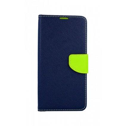Flipové puzdro Luna Book na Huawei P30 Lite modré