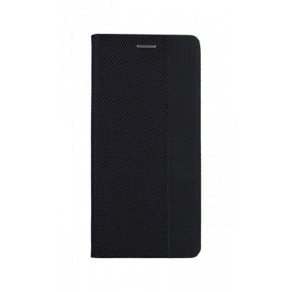 Flipové puzdro Sensitive Book na Huawei P30 Lite čierne