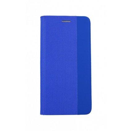 Flipové puzdro Sensitive Book na Huawei P30 Lite modré