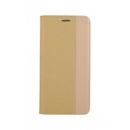 Flipové puzdro Sensitive Book na Huawei P30 Lite zlaté