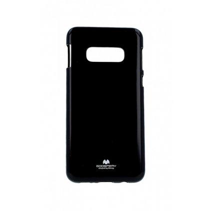 Zadný silikónový kryt Mercury Jelly Case na Samsung S10e čierny