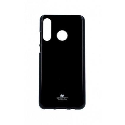 Zadný silikónový kryt Mercury Jelly Case na Huawei P30 Lite čierny