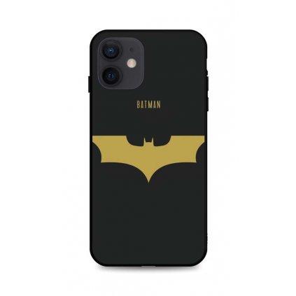 Zadný pevný kryt LUXURY na iPhone 12 Gold Batman