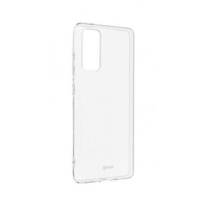 Zadný silikónový kryt Roar na Samsung S20 FE priehľadný