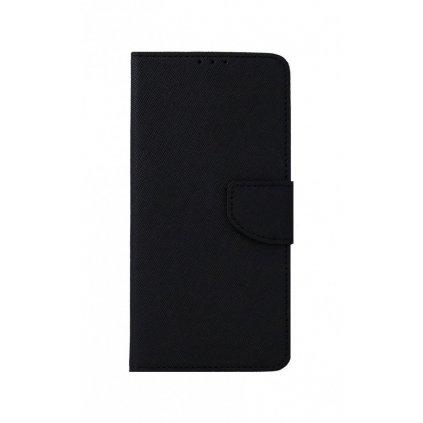 Flipové púzdro na Samsung A12 čierne